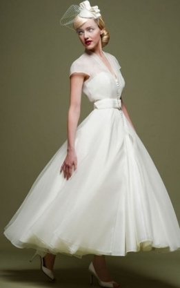1950S Wedding Dresses, 50S Style Bridal Gowns | Dressafford In Luxury 1950S Wedding Dresses Ty4