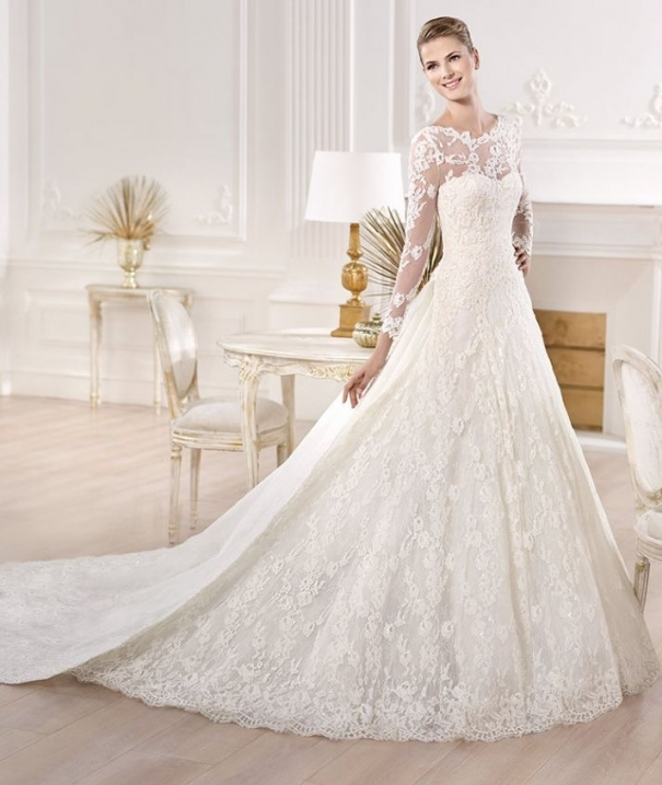 20 Favorite Wedding Gowns From Atelier Pronovias 2014 Inside Lovely 2014 Wedding Dresses Fg8