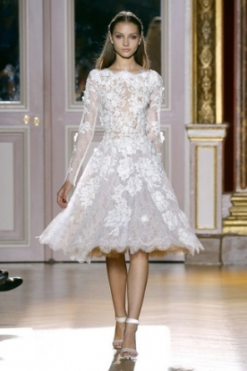 20 Short Wedding Dresses & Gowns Intended For Short Wedding Dresses With Sleeves