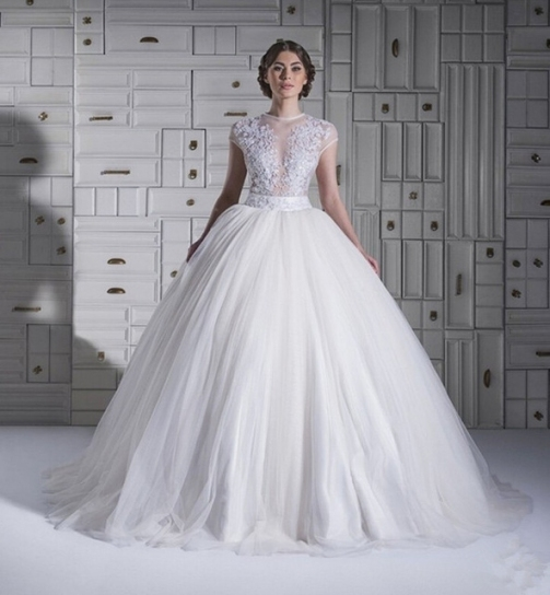 2015 Princess Style Wedding Dresses Toptransparent Ball Gowns Tulle With Regard To Princess Style Wedding Dresses