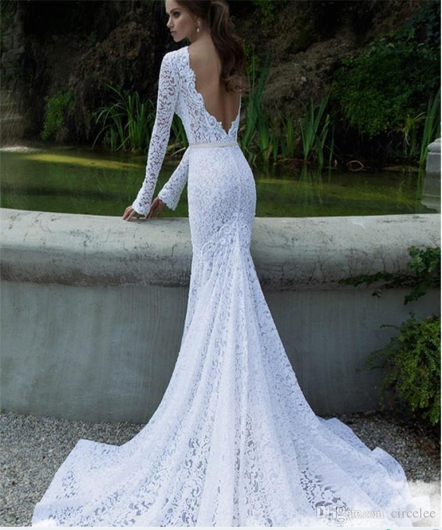 2017 Sexy Backless Wedding Dresses Online Gorgeous Wedding Gowns Regarding Bridal Dresses Online