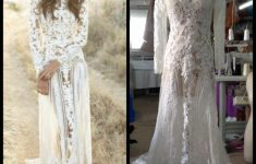 2018 Sexy Vintage Wedding Dresses Long Sleeve Lace Boho Wedding in Awesome Vintage Wedding Dresses ty4