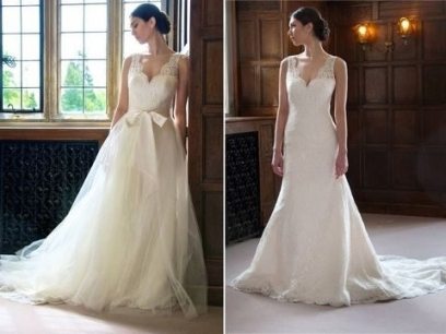Fresh Convertible Wedding Dress jk4