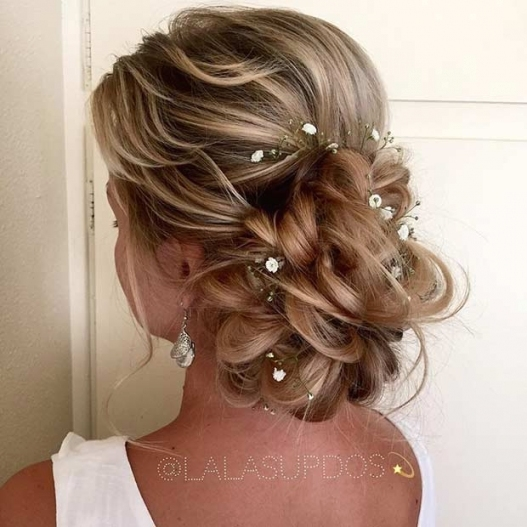 23 Romantic Wedding Hairstyles For Long Hair | Stayglam With Regard To Hairstyles For Long Hair Wedding