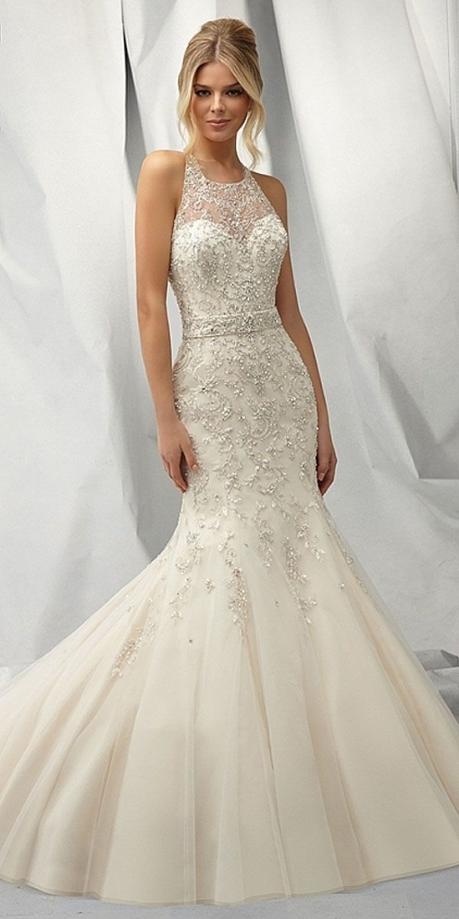 Beautiful Mermaid Wedding Dresses fg8