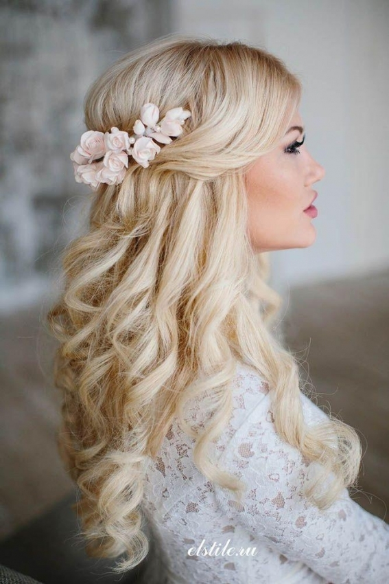 36 Stunning Half Up Half Down Wedding Hairstyles #2530865 - Weddbook in Fresh Wedding Half Up Half Down Hair klp8