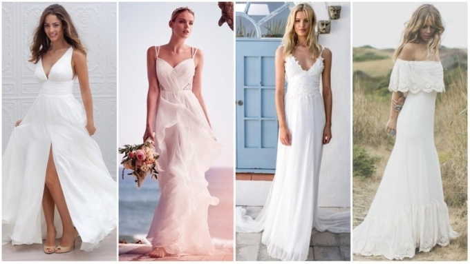 40 Unforgettable Beach Wedding Dresses For Your Special Day Within Casual Beach Wedding Dresses