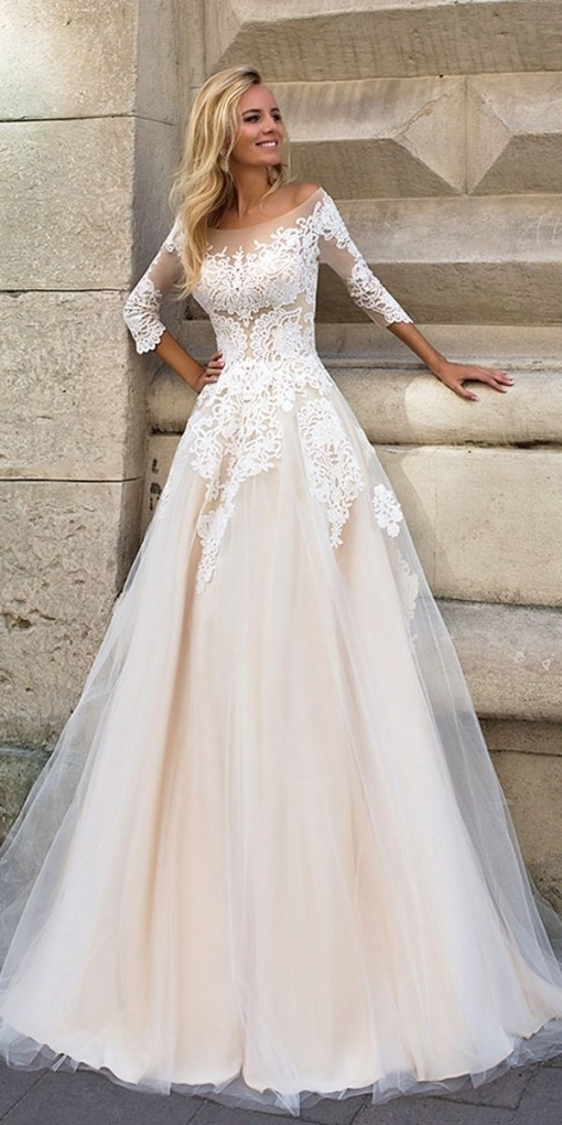 6 Wedding Dress Designers We Love For 2017 In 2018 | Wedding Dresses Pertaining To Bridal Gown Designers