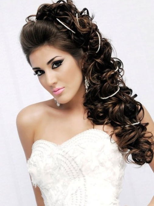 60 Unforgettable Wedding Hairstyles With Beautiful Hairstyles For Long Hair Wedding Sf8