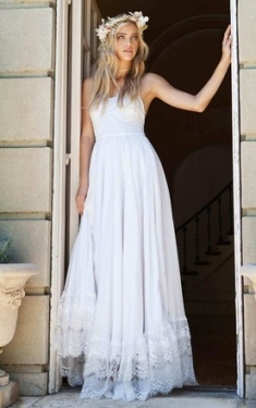 Affordable Beach Bridals Dresses, Cheap Destination Wedding Gowns With Luxury Simple Wedding Dresses For The Beach Ty4