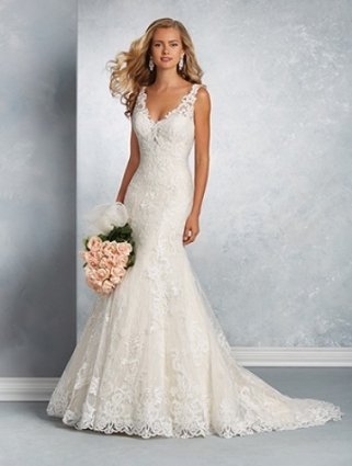 Alfred Angelo Wedding Dresses   Style 2601 [2601]   $1,395.00 In Alfred Angelo Wedding Dresses