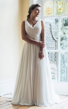 Beach Wedding Dresses Plus Size   June Bridals In Unique Plus Size Casual Wedding Dresses Sf8