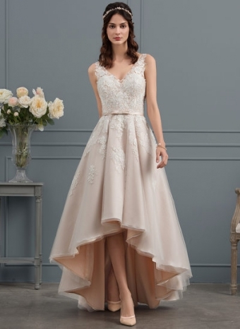 Beautiful Wedding Reception Dresses | Jj'shouse Intended For Beautiful Dress For Wedding Party Klp8