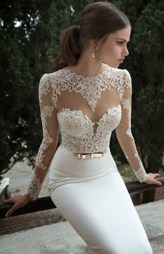 Best Wedding Dresses Of 2013   Belle The Magazine In Lovely 2014 Wedding Dresses Fg8