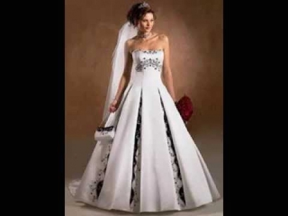 New Blue And White Wedding Dresses jk4