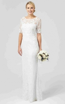 Bridal Dresses For Old Brides, Older & Mature Brides | Dressafford In Best Of Wedding Dresses For Older Brides Df9