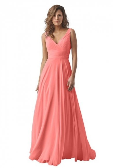 Coral Dress For Wedding 33 Best Coral Bridesmaid Dresses Images On Throughout Coral Dress For Wedding