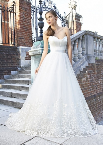 Designer Wedding Dresses & Couture Bridal Uk | Suzanne Neville Within Bridal Gown Designers