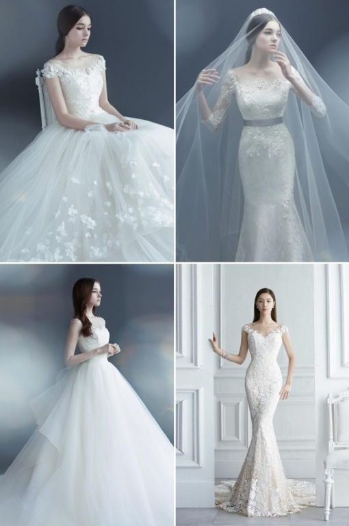 Unique Korean Wedding Dress dt3