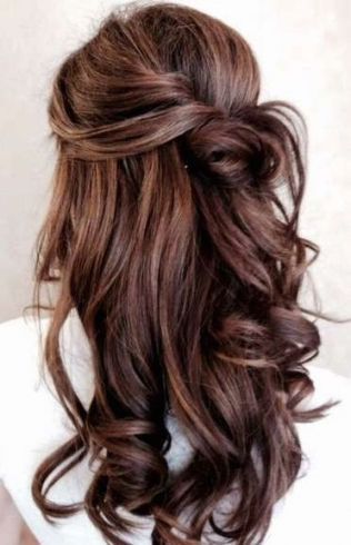 Unique Easy Wedding Hairstyles For Long Hair sf8