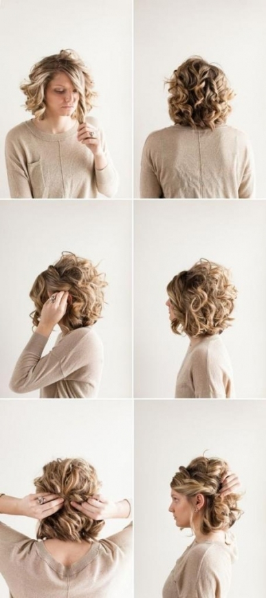 Beautiful Easy Wedding Hairstyles For Short Hair df9