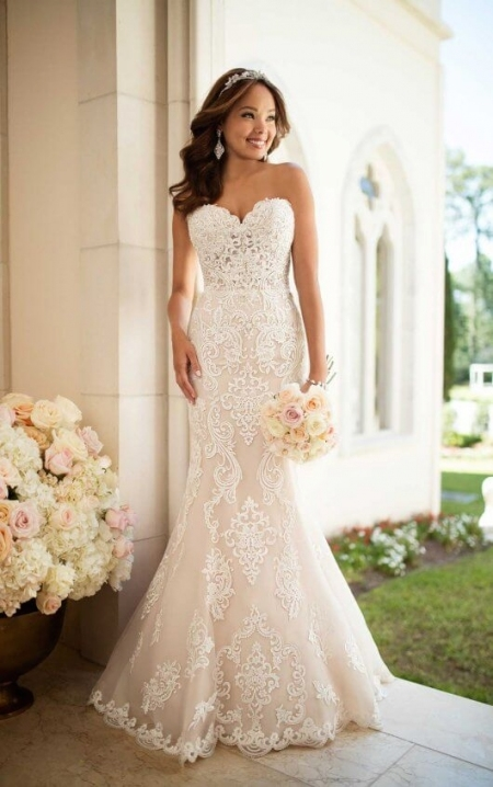 Beautiful Elegant Wedding Dresses For Pregnant Brides