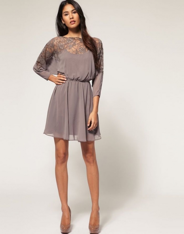 Lovely Fall Dresses For Wedding Guests sf8