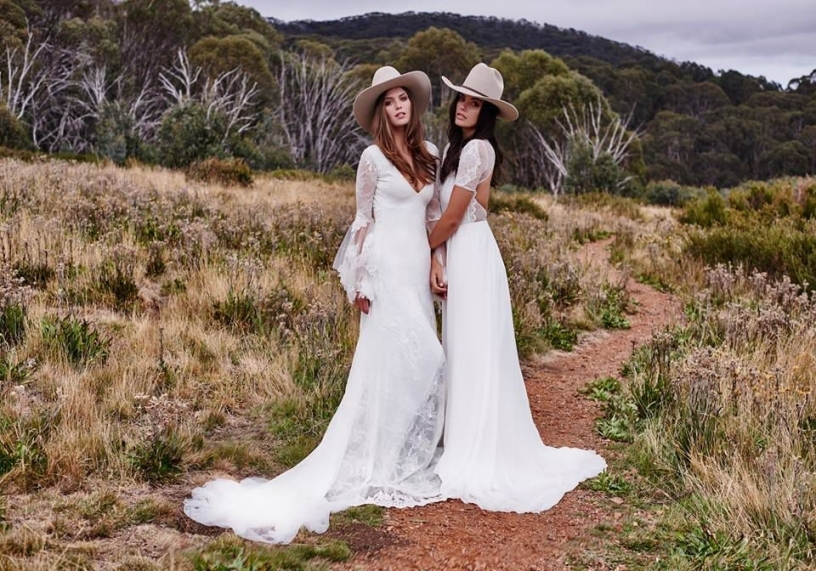 Grace Loves Lace Wedding Dresses   Rustic Wedding Chic Intended For Western Style Wedding Dresses