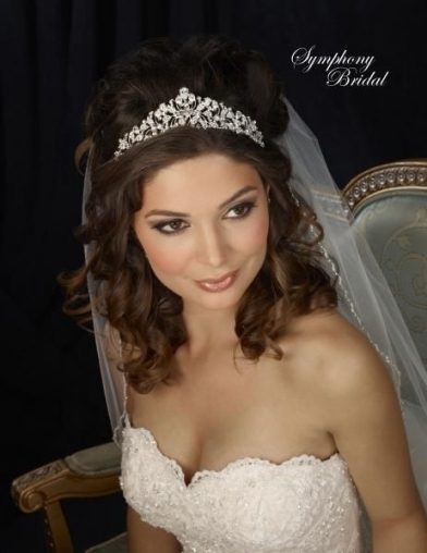 Best of Wedding Hair With Tiara And Veil kls7