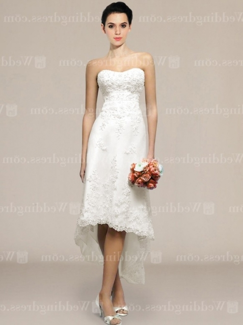 New Short Wedding Dress klp8