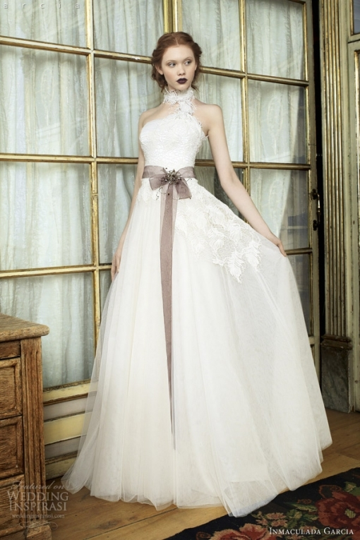 Inmaculada García 2014 Wedding Dresses — Savanna Tales Bridal Inside 2014 Wedding Dresses
