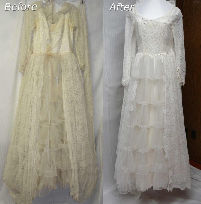Janet Davis Cleaners - Wedding Dress Cleaning & Preservation within Wedding Dress Cleaning