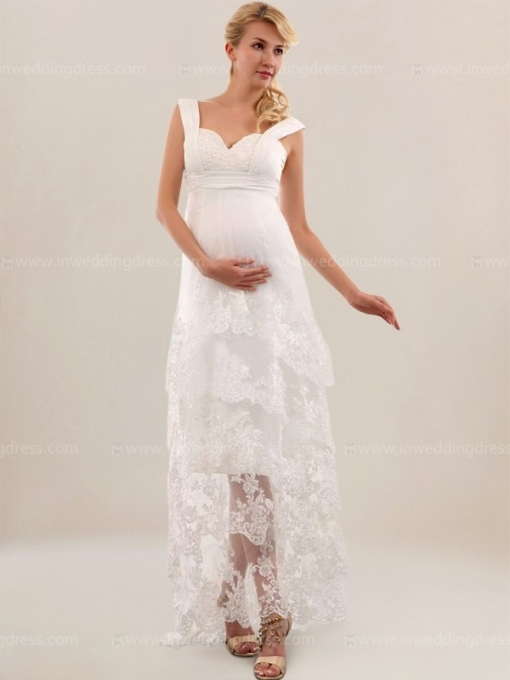 Maternity Beach Wedding Dress Uk Bc604 | Inweddingdress For Elegant Casual Beach Wedding Dresses Ty4