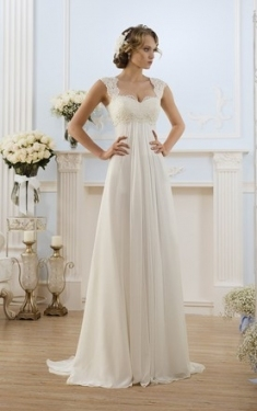 Maternity Wedding Gowns, Pregnant Bridal Dresses   June Bridals Pertaining To Pregnancy Wedding Dresses