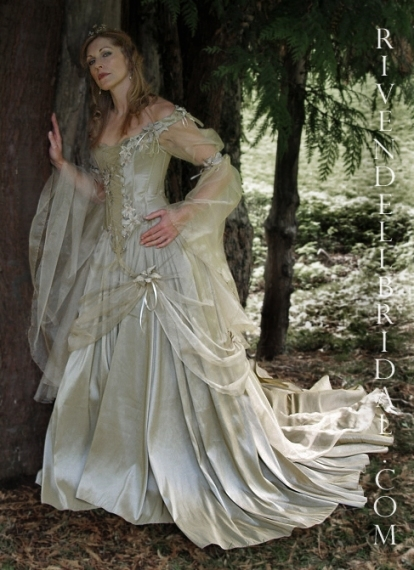 Awesome Medieval Wedding Dresses fg8