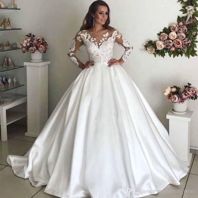 Modern Cathedral Train 2017 Princess Wedding Dress Vestidos De Noiva Inside Best Of Princess Wedding Dresses Kls7