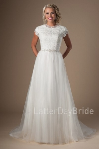 Modest Wedding Dresses Intended For Modest Wedding Dresses With Sleeves