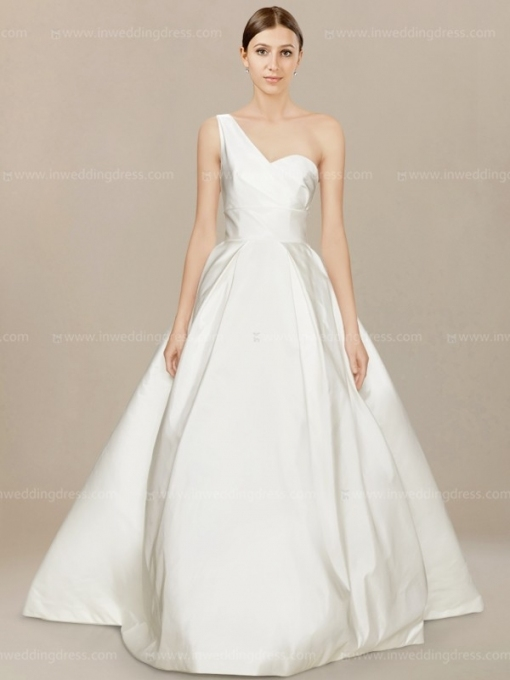 One Shoulder Ball Gown Wedding Dress Au$279 Throughout One Shoulder Wedding Dress