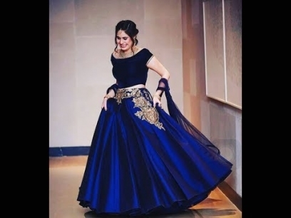 Pakistani Bridal Royal Blue Wedding Dresses 2017   Youtube With Royal Blue Wedding Dresses