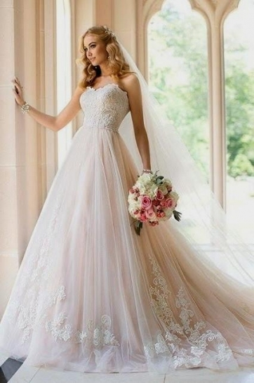 Pale Pink Wedding Dress Naf Dresses With Light Pink Wedding Dress