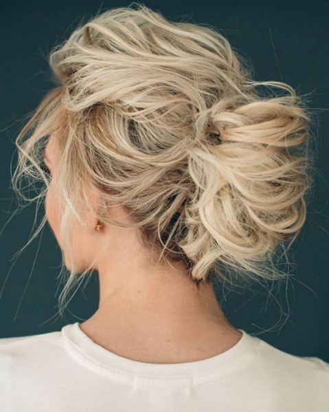 Picture Of Wedding Updo For Medium Hair With No Accessories with New Wedding Updos For Medium Hair fg8