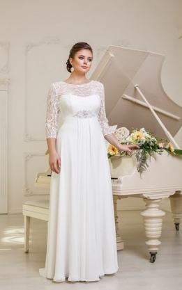 Plus Figure Casual Bridal Dresses, Large Size Style Wedding Gowns Within Unique Plus Size Casual Wedding Dresses Sf8