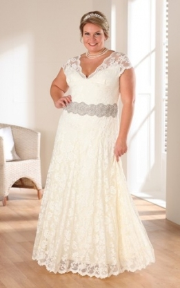 Plus Sized Informal & Casual Wedding Dress | Dressafford In Unique Plus Size Casual Wedding Dresses Sf8
