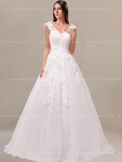 Princess Beaded Corset Wedding Dress £163.64 With Regard To Awesome Corset Wedding Dresses Klp8
