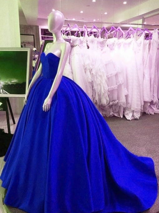 Royal Blue Wedding Dress,taffeta Wedding Dress,flawless Wedding With Unique Royal Blue Wedding Dresses Kc3