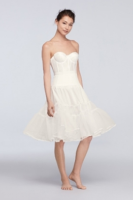 Shapewear Guide: What To Wear Under Your Wedding Dress | David's Bridal For What To Wear Under Wedding Dress