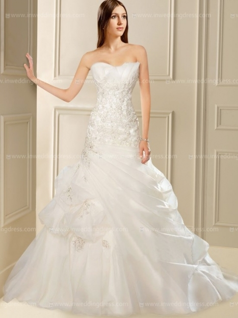 Strapless Corset Wedding Dress $280 With Corset Wedding Dresses
