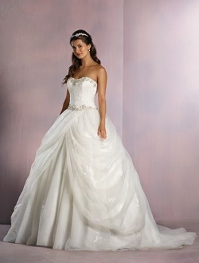 Style 254 | Disney Fairy Tale Bridal | Alfred Angelo | Wedding With Regard To Elegant Alfred Angelo Wedding Dresses Kls7