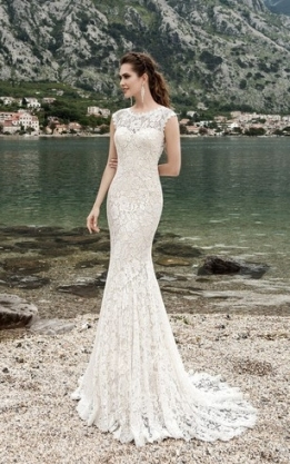 Summer Bridal Dresses | Beachy Wedding Gown   Dorris Wedding For Awesome Bridal Dresses Near Me Kc3