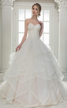 Sweetheart Wedding Gowns & Dresses | Strapless Bridal Dresses   June With Regard To Awesome Strapless Wedding Dresses Df9